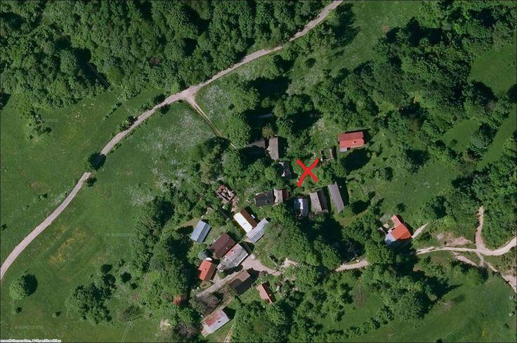 Miesto kde stál rodný dom Juraja Jánošíka.
