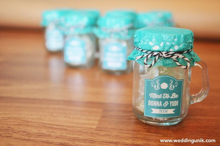5 Wedding Souvenirs yang Paling Disukai - souvenir pernikahan the bride dept