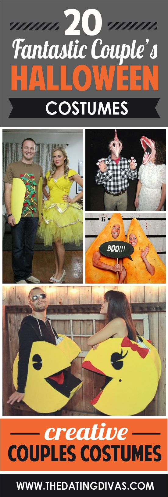 These costume ideas for couples is just what I need this year! www.TheDatingDivas.com