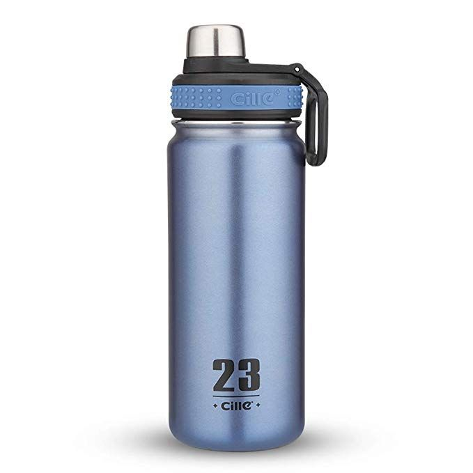 Cille 24 Oz Stainless Steel Water Bottles Insulated Water Bottles