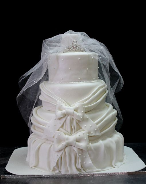Wedding Cake from The House of Cakes Dubai   repin it