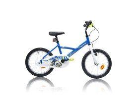 Vélo enfant 16 pouces garçon COP TROOPER bleu