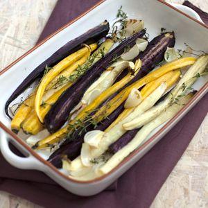 Recept - Geroosterde wortels met tijm - Allerhande