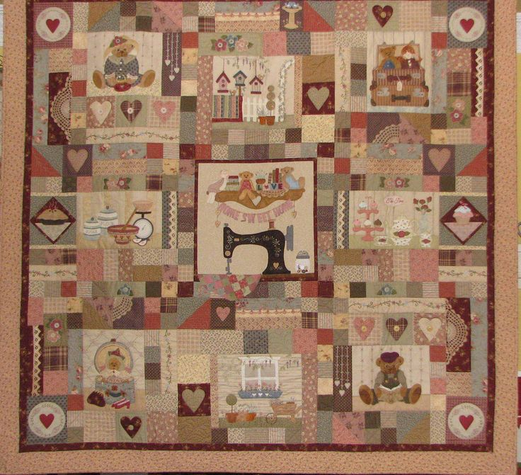Mystery Quilt KIT by Libby Richardson of Artsmart Craft Cottage - The Patchwork Teahouse