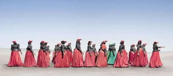 Jim Naughten's perspective on the Herero tribe, Namibia