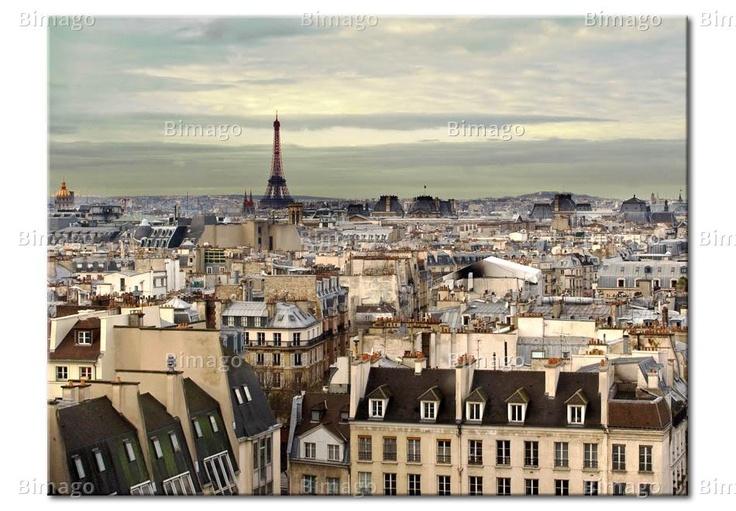Tableau Panorama de Paris