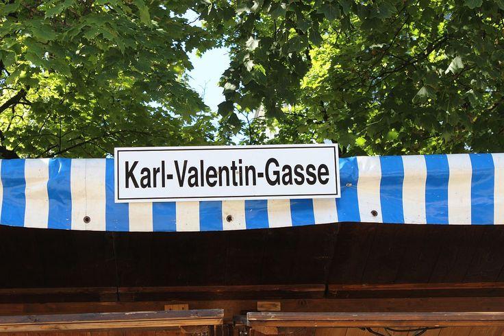 Karl Valentin Gasse #karlvalentin #muenchen #musäum #auerdult