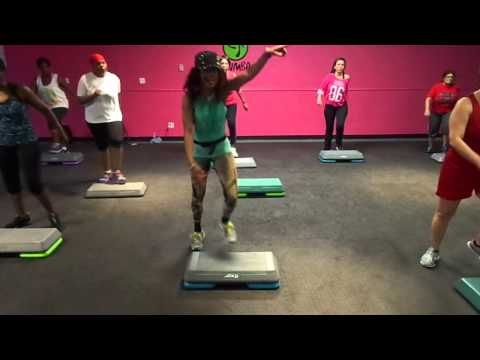 HIP HOP STEP AEROBICS VIDEO #2 BY: PGR FAMILY CARDIO CLUB - YouTube