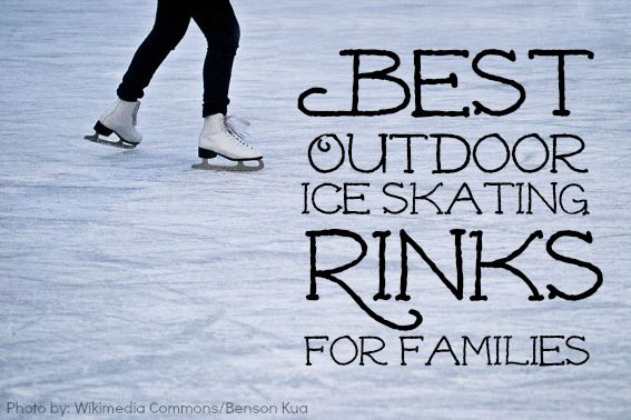 Get ready for the Olympics and head to one of these Best Outdoor Ice Skating Rinks across the US!