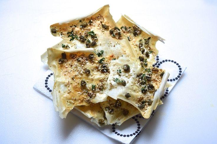 Skinny Six: Arabische filodeegcrackers | Chickslovefood.com | Bloglovin'
