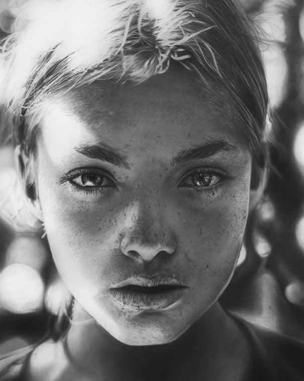 Realistic Pencil Portraits from Olga Larionova- Light