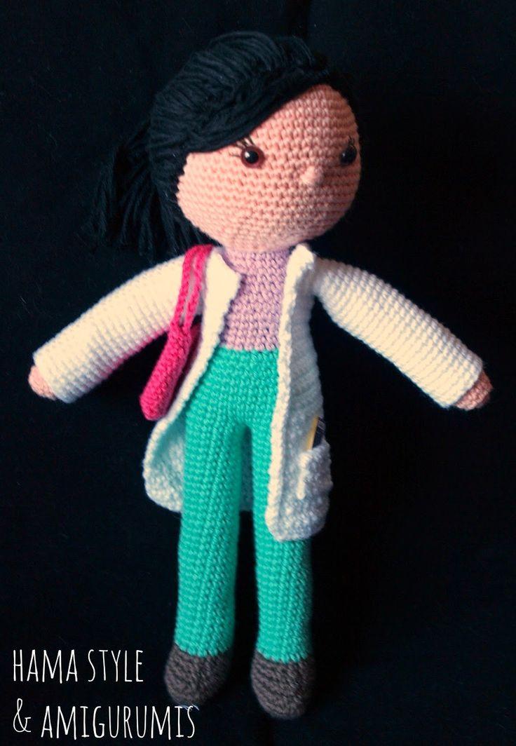 Mejores 46 imágenes de Amigurumis Muñecas/ Doll en Pinterest ...