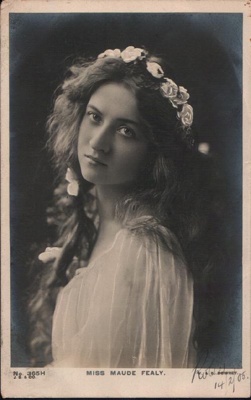 Edwardian Actress: Miss Maude Fealy (1883-1971)