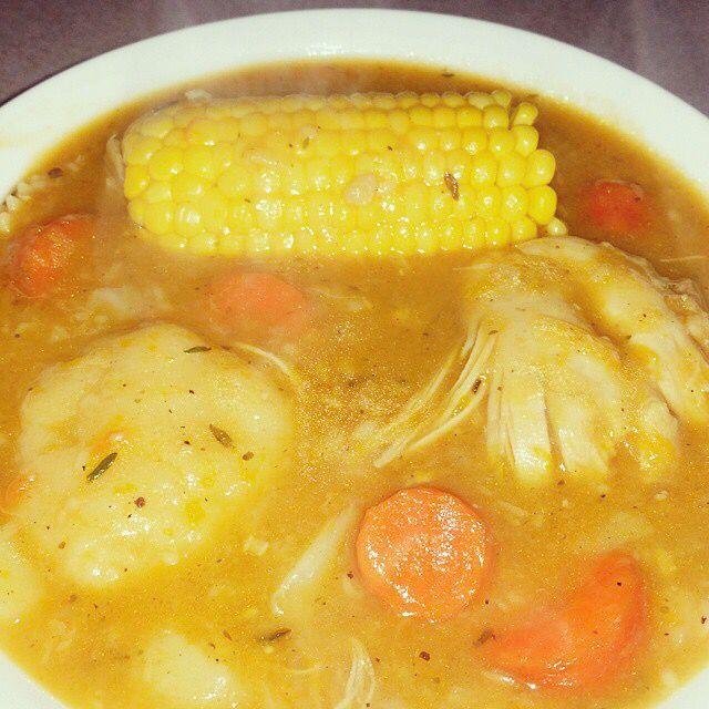 Jamaican chicken soup