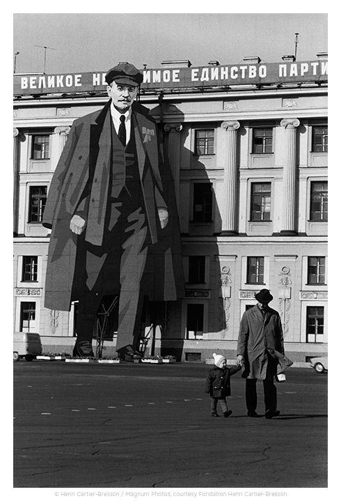 Henri Cartier-Bresson. Leningrado, Rusia.