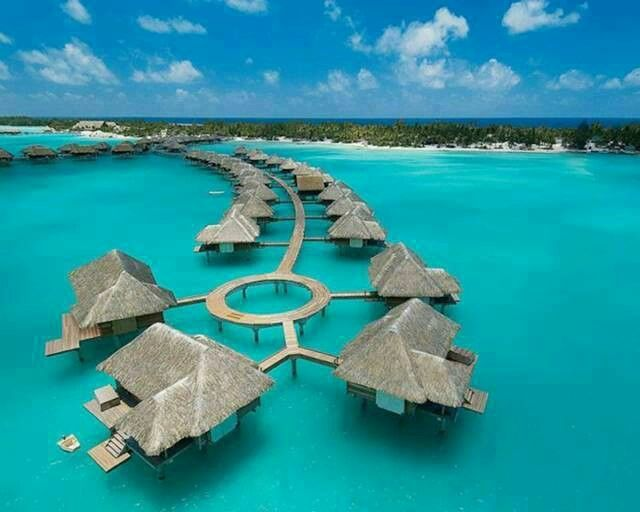 Bora Bora and I wanna stay here!