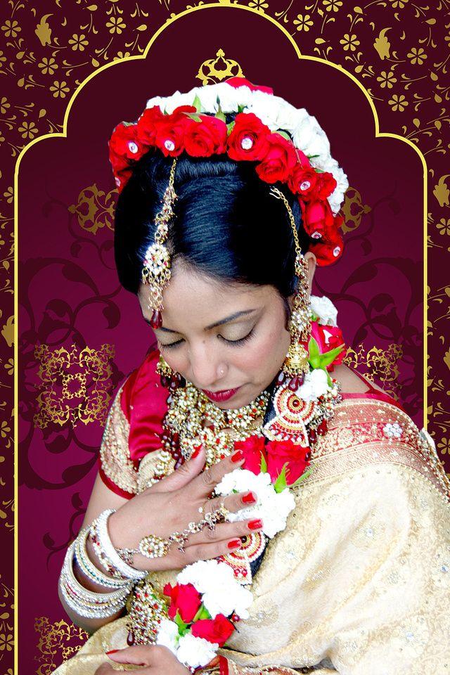Tamil Bridail Hair