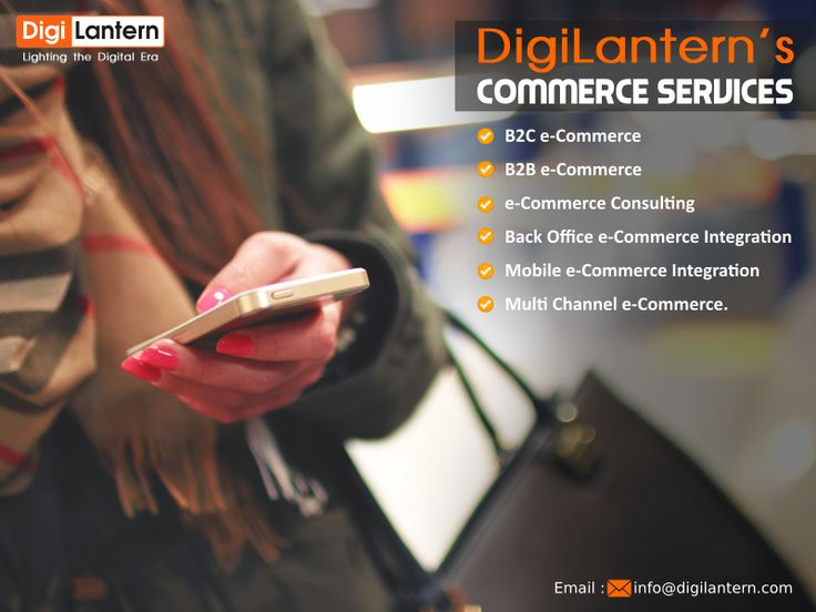 The main purpose of #DigiLantern's #CommerceServices is to help you improve your revenue online. DigiLantern provides e-commerce solutions that help lower the cost of doing a business, enhance customer engagement and broaden your global presence. We provide an absolute complement of e-commerce solutions and potential that empower businesses to incorporate cross-channel interactions, forecast trends using advanced #Analytics.