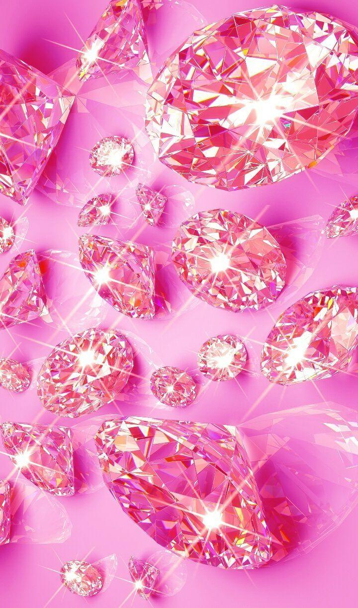 Diamond Wallpapers Wallpapers Pink Pink Diamond Wallpaper