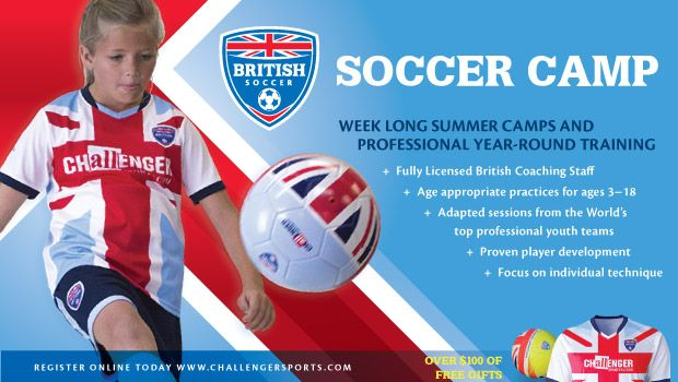 British Soccer Camp is Coming - My kids love soccer; and now you can find the camp closest to where you live with a quick search.