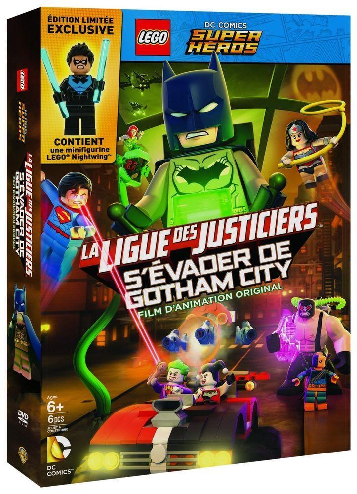 LEGO DC Comics Super Heroes : La Ligue des Justiciers - S évader de Gotha - DVD