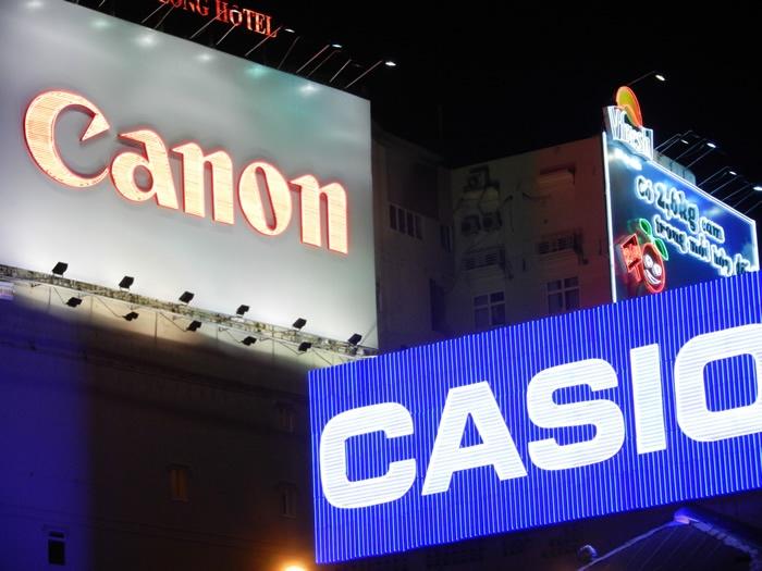 Canon and Casio
