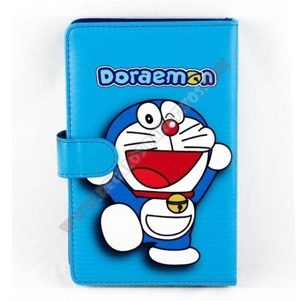 """Protege y personaliza tu tablet PC con esta bonita Funda universal para tablet 7"""" con teclado diseño Doraemon, Sólo debes conectar el teclado al puerto USB de la tablet, y dispondrás de un teclado físico, como si fuera un portátil."""