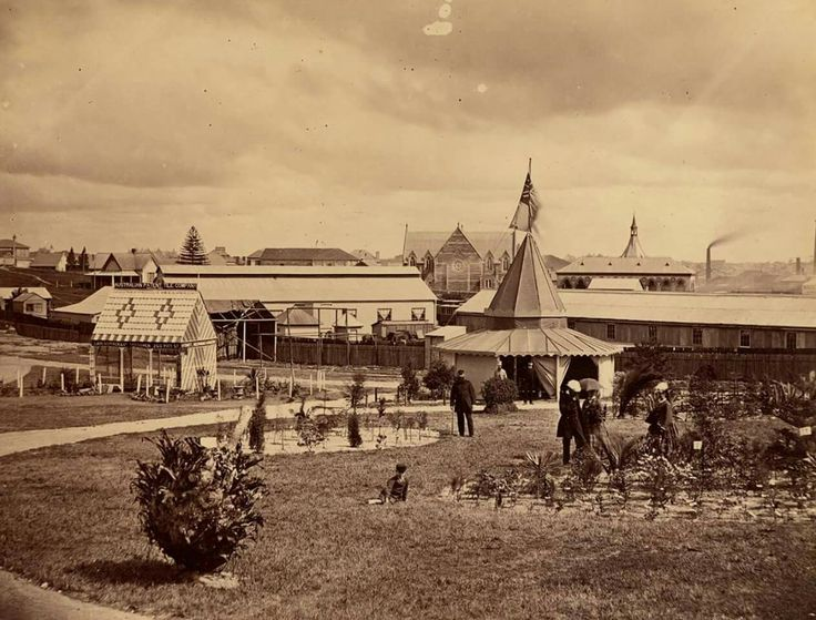 Prince Alfred Park in Surry Hills,in Sydney in 1870.
