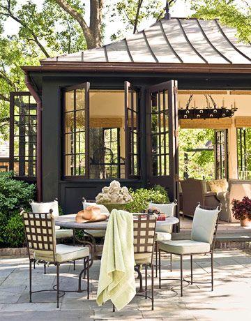 .: Casement Window, Gingers Barbers, Outdoor Rooms, Outdoor Living, Pools Houses, Beautiful Pools, Guest Houses, Outdoor Spaces, Window And Doors