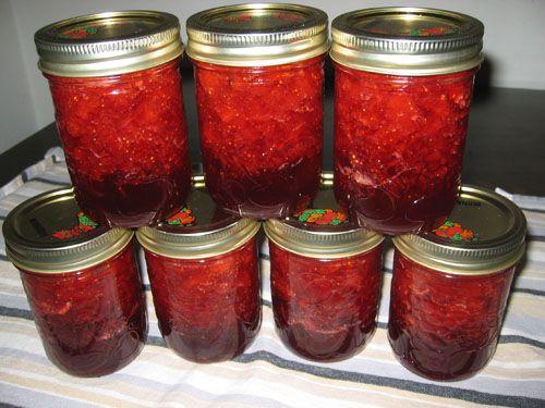 Fresh Strawberry Jam Recipe/Video/Ina Garten  http://www.foodnetwork.com/recipes/ina-garten/fresh-strawberry-jam-recipe/index.html