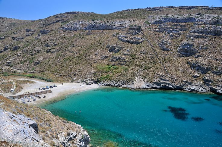 The beach of Apothikes on the southwestern tip of Andros. #beaches, #landscape, #greekislands, #greece, #hdrphotography, #hdr, #andros, #apothikes