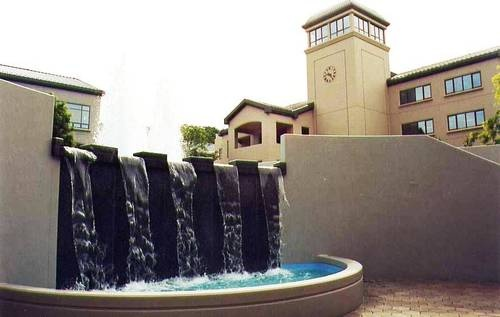 "Watchtower Educational Center - Patterson, NY ""Watchtower"" look to the fountain."