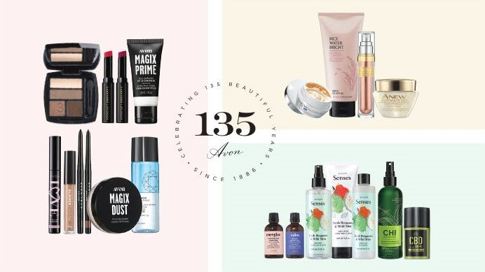 135 Years Of Avon In 2021 Skin Care Essentials Avon Beauty Products Online