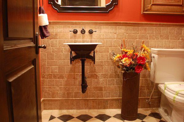 Great tile s s pinterest black dots kitchen for 4x4 bathroom ideas
