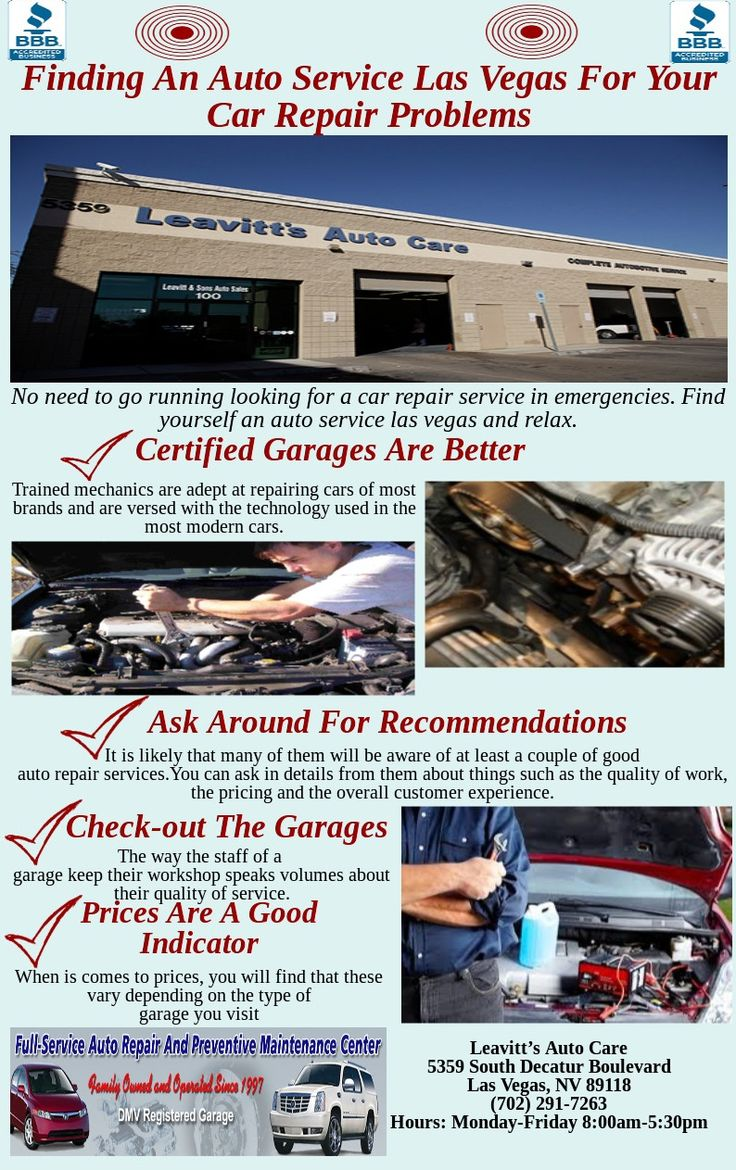 8 best leavitts auto care images on pinterest las vegas last there are many different auto repair services in most cities to find the most suitable solutioingenieria Images