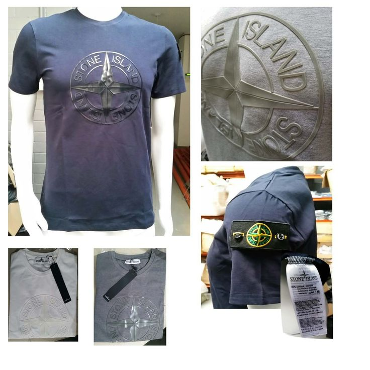 Stone island t shirt, Crew neck in 5 x Colours  #joggers #nike #EDGE99 #stoneisland #calvinklein #fitness #ralphlauren #menshoes #sale #tshirts