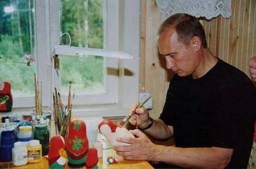 President Vladimir Putin & the Matryoshka