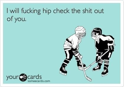 How to solve problems hockey style