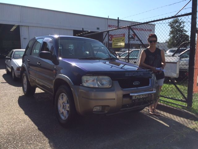 Jill picked up her Ford escape today. Congratulations and thanks for visiting Motor vehicle wholesale dot com.