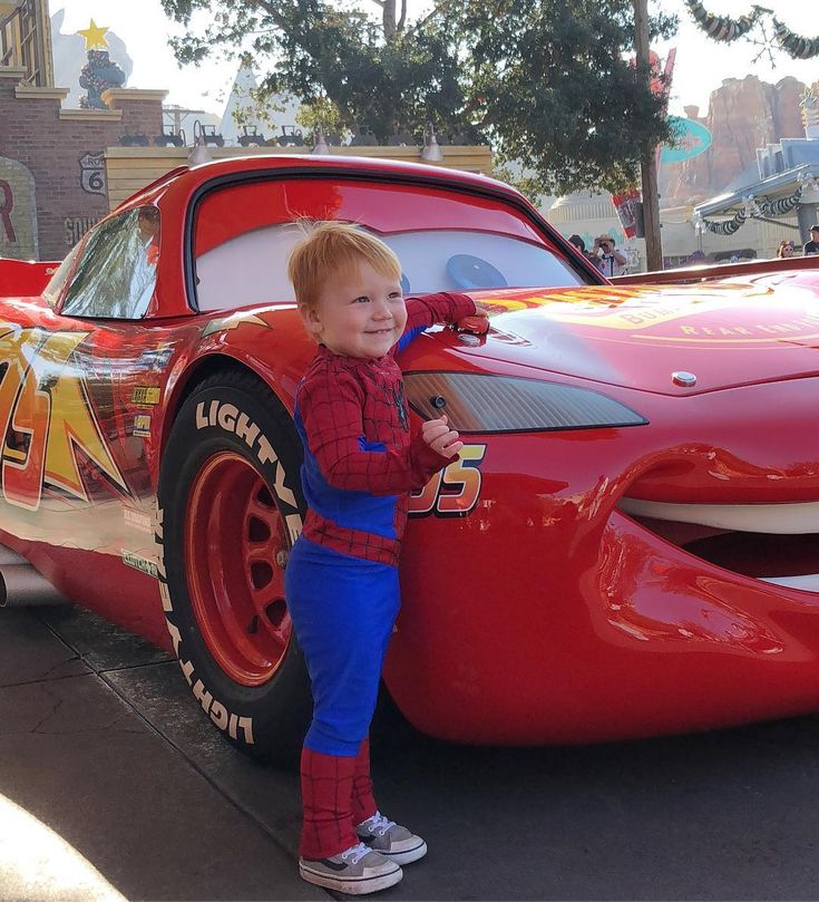 Disney trips have changed over the years. From tea parties with Alice and the Mad Hatter and twirls with Princesses with our daughter Riley... To moments like this with Lightning McQueen Spider-Man Star Lord and Chewbacca  #boymomlife #transformationtuesday #liamparker #spiderman #cars #lightningmcqueen #disney #disneyland #dlr #dland #peterparker #superhero #boy #redhead #marvel #spidey #blessed #disneykid #disneyside #disneybaby #pixar #abc7eyewitness #dca