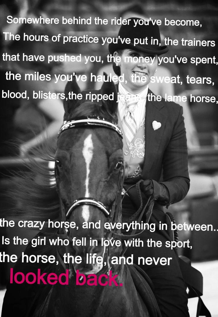 Horse quote #saddleseat