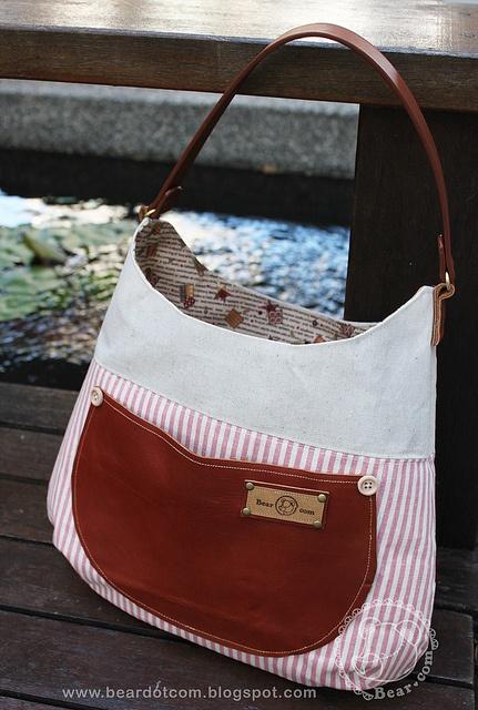 a go go handmade bag  ...see more at http://beardotcom.blogspot.com/