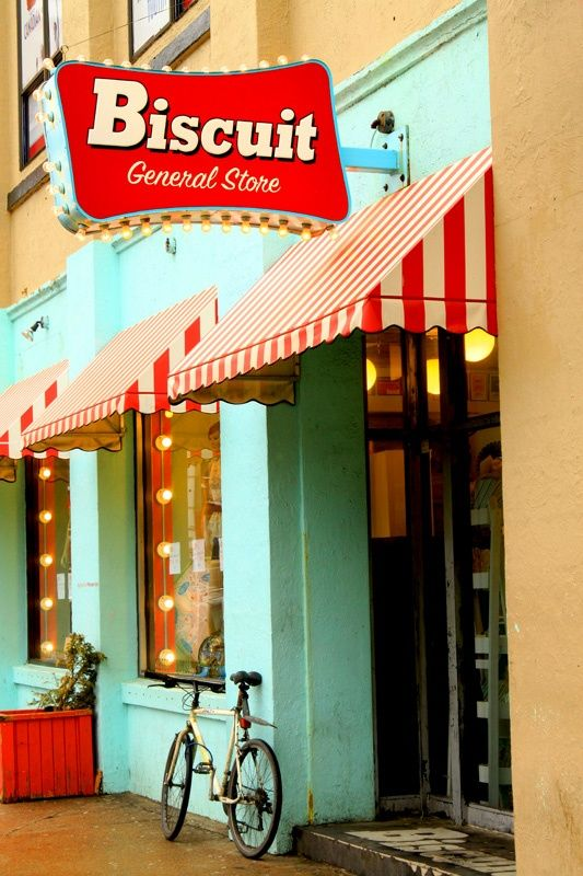 biscuit general-store | halifax, ns | striped awning contrast color