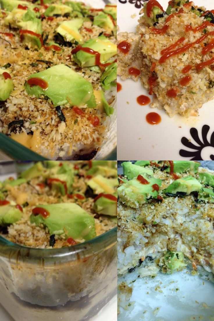 Sushi casserole Make sushi without needing any bamboo rollers or special gadgets! You can customize this according to your preferences. I us...