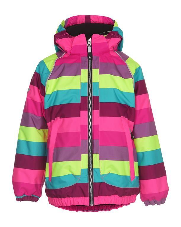 www.aatio.fi, Aati O, lastenvaatteet, Molo Kids, Cathy jacket Girly Rainbow