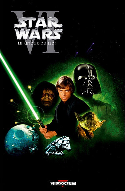 Star Wars Episode 6: The Return of the Jedi - my faverioute episode