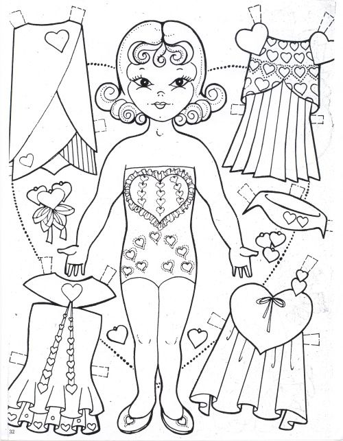 Charles Venture Valentine Doll page for Marilyn