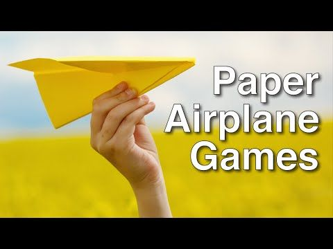 Paper Airplanes Games - YouTube