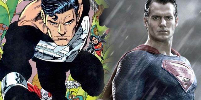 Is Superman back as the man in black? #Marvel #comics #avengers