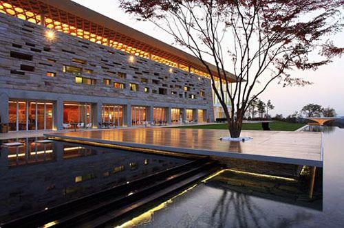 Designers Party : Haesley nine bridges golf clubhouse : Kyeong Sik Yoon, Shigeru Ban